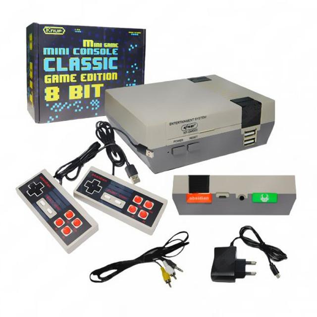 Vídeo Game 800 Jogos Clássicos 8 Bits 2 Controles