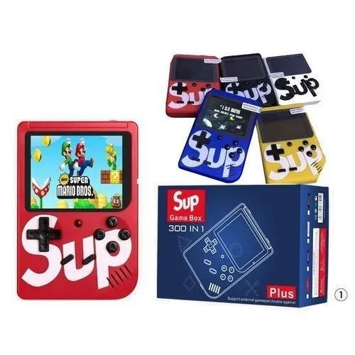 Vídeo Game Portátil 400 Jogos Internos Mini Game Sup Retrô
