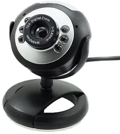 Webcam Alta Definição Real Hd com Microfone 360º Usb 2.0