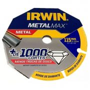 "Disco de Corte Diamant. Metalmax 4.5""x 0.5""x 7/8"" - 115mm (IRWIN 1998845)"