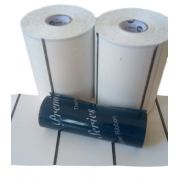 KIT ETIQUETA TAG SIMPLES (100 X 60mm) - 2 ROLOS TAG + 1 RIBBON