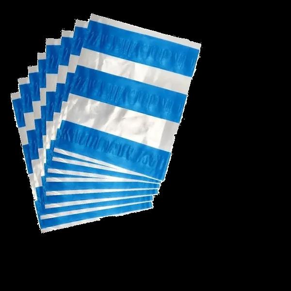 ENVELOPE DE SEGURANÇA P/ ENVIO DANFE (AWB/CANGURU) 13x15cm - 100 UNIDADES  - LUC