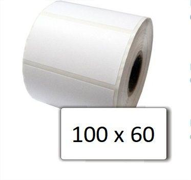 Etiqueta com Cola BOPP 100x60mm - 45 Metros  - LUC