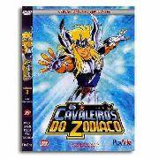 Os Cavaleiros Do Zodiaco Original Dvd Volume 3 Sem Cortes