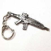 Chaveiro Arma Cross Fire Guns Metal Modelo 18