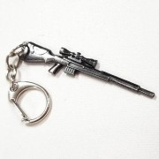 Chaveiro Arma Cross Fire Guns Metal Modelo 10