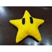 Estrela Super Mario Bros 17 Cm Pelúcia Feltro
