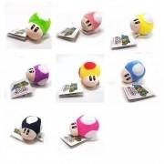 Chaveiro Cogumelo Mushroom Super Mario Bros Toad