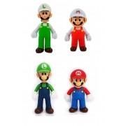 Super Mario Bros - Banpresto Action Figure Boneco Luigi Mario