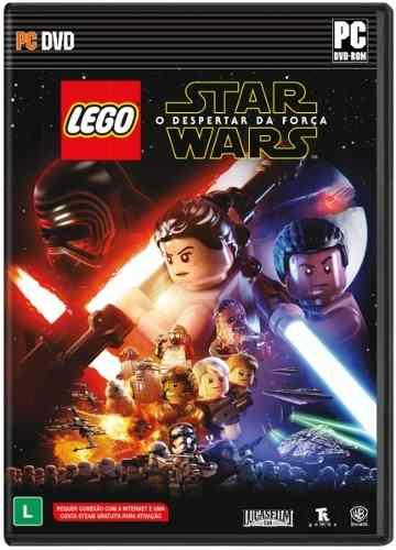 Jogo Lego Star Wars O Despertar Da Força Pc Mídia Física