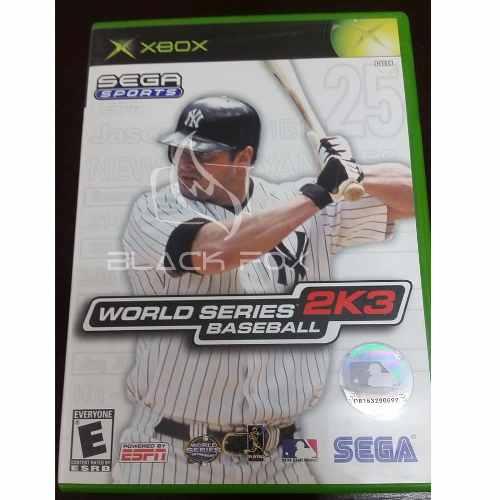 Baseball 2k3 2003sega Sports Espn Xbox Original Midia Fisica