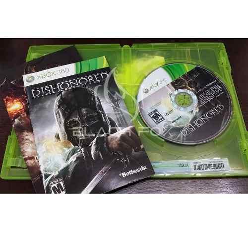 Dishonored Xbox 360 Original Completo Midia Fisica