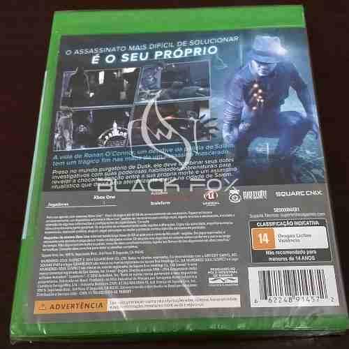 Murdered Soul Suspect Xbox One Novo Original Mídia Física