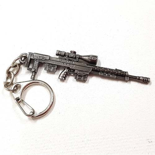 Chaveiro Arma Cross Fire Guns Metal Modelo 05