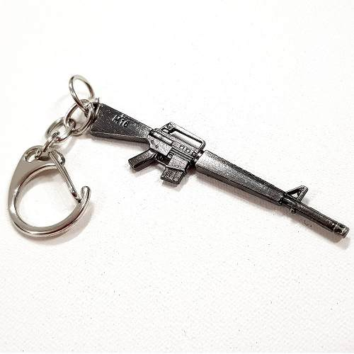Chaveiro Arma Cross Fire Guns Metal Modelo 13