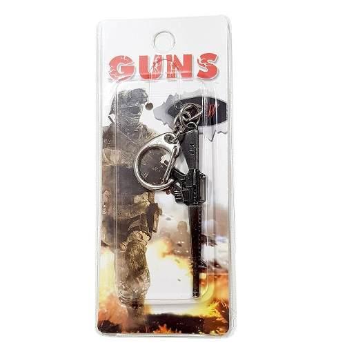 Chaveiro Arma Cross Fire Guns Metal Modelo 13
