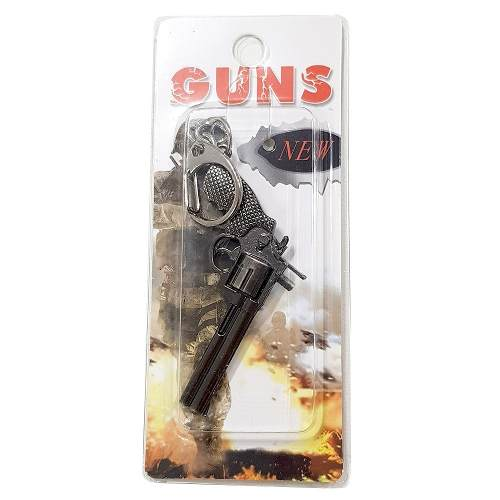 Chaveiro Arma Cross Fire Guns Metal Modelo 21
