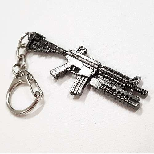 Chaveiro Arma Cross Fire Guns Metal Modelo 23