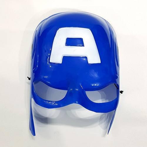 Máscara Capitão América Marvel Fantasia Cosplay