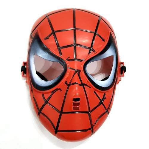 Máscara Spiderman Homem Aranha Marvel Fantasia Cosplay