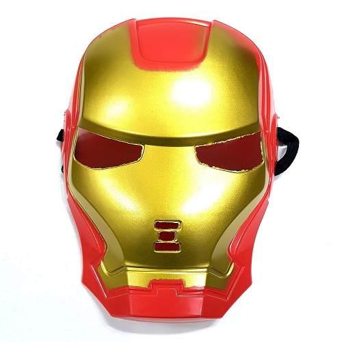 Máscara Ironman Homem De Ferro Marvel Fantasia Cosplay