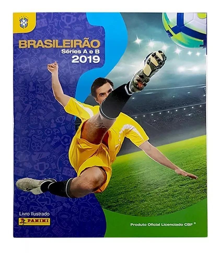 Álbum De Figurinhas Brasileirão 2019 Panini + 6 Figurinhas