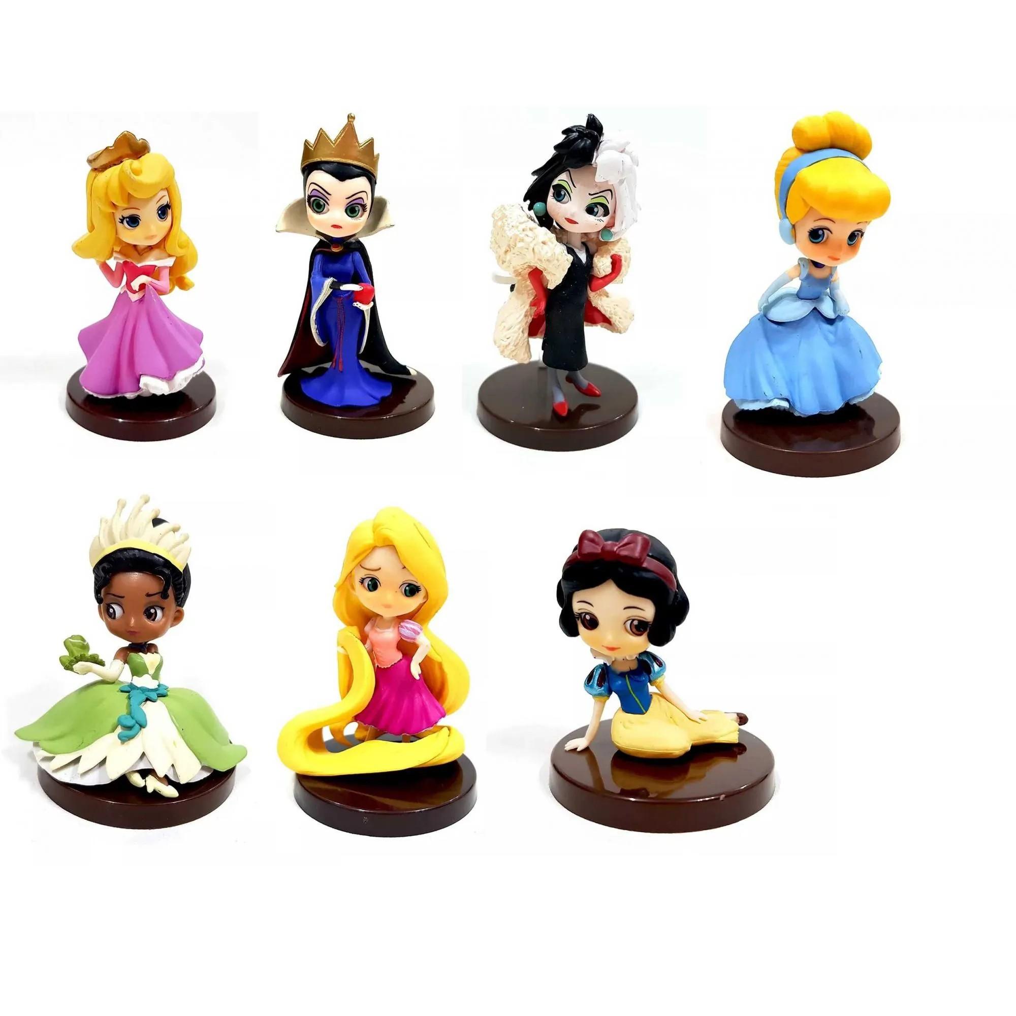 Boneca Disney Qposket Princesa e Vilãs