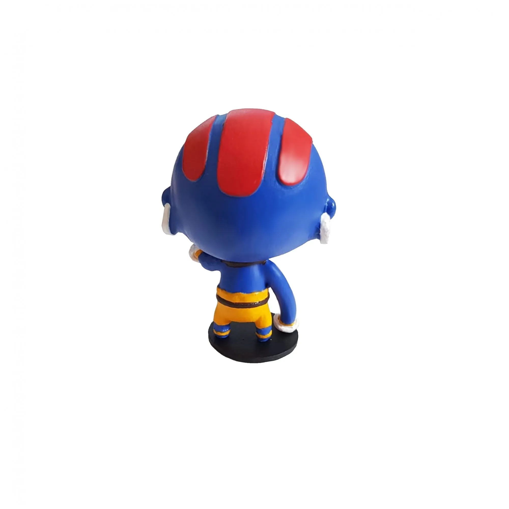 Boneco Estátua Dhalsim Blue Street Fighter 10cm Sfv