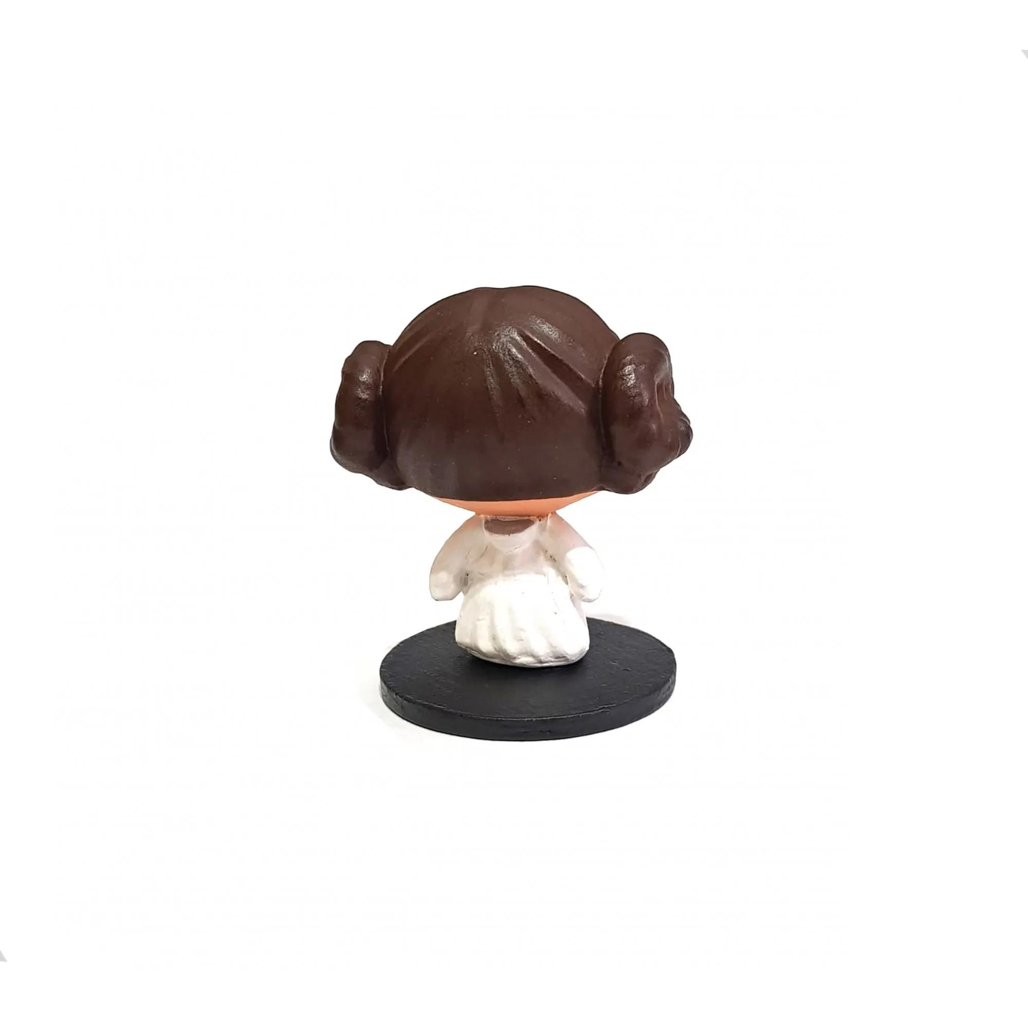 Boneco Star Wars Princesa Leia Mandalorian Novo Geek Jedi