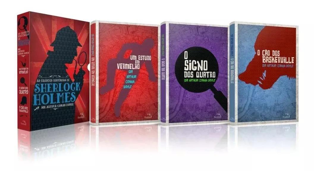Box - As Grandes Histórias De Sherlock Holmes - 3 Volumes