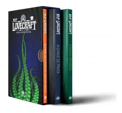 Box - Hp Lovecraft 3 Volumes - 2 Edição Pandorga Lacrado