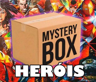 Caixa Misteriosa Herói Mystery Box Surpresa
