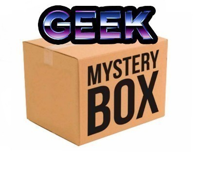 CAIXA MISTERIOSA MYSTERY BOX SURPRESA GEEK NÚMERO 2