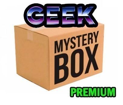 CAIXA MISTERIOSA MYSTERY BOX SURPRESA GEEK PREMIUM