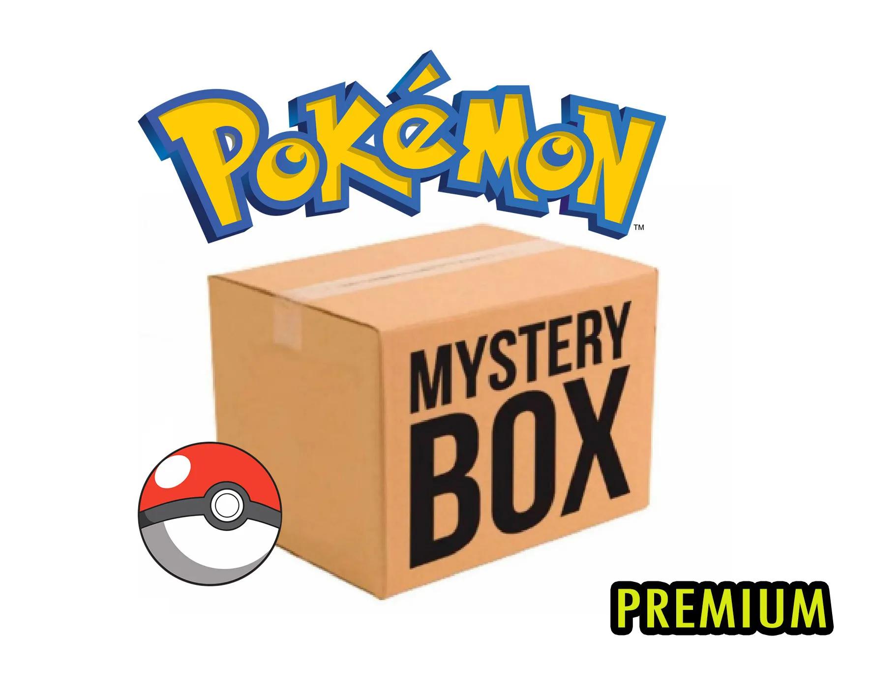 CAIXA MISTERIOSA MYSTERY BOX SURPRESA POKEMON PREMIUM