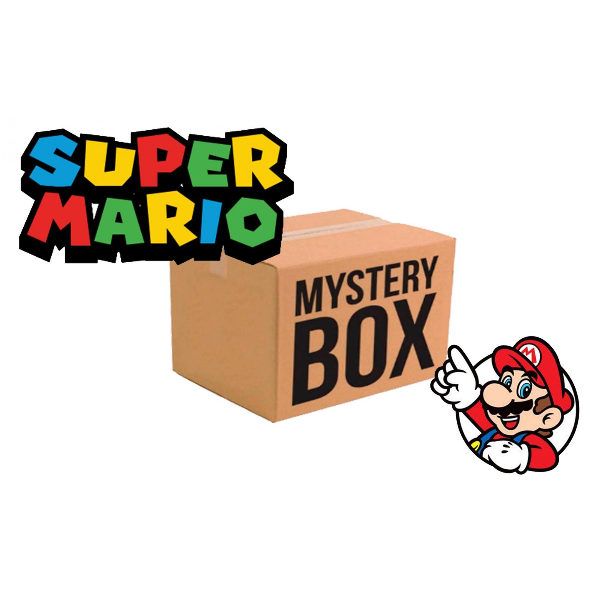 CAIXA MISTERIOSA MYSTERY BOX SURPRESA SUPER MARIO BROS