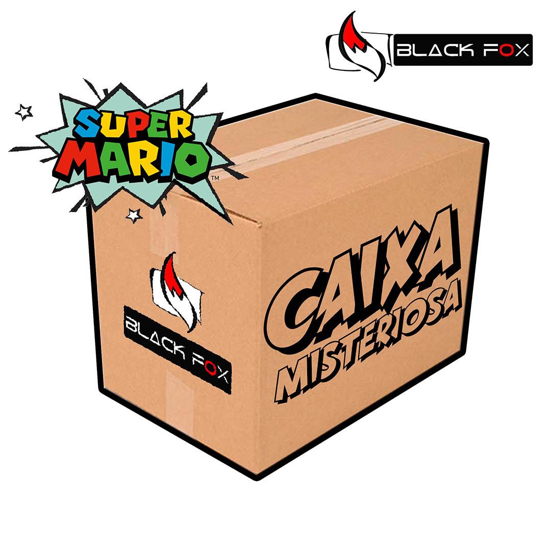 CAIXA MISTERIOSA MYSTERY BOX SURPRESA SUPER MARIO BROS PADRÃO