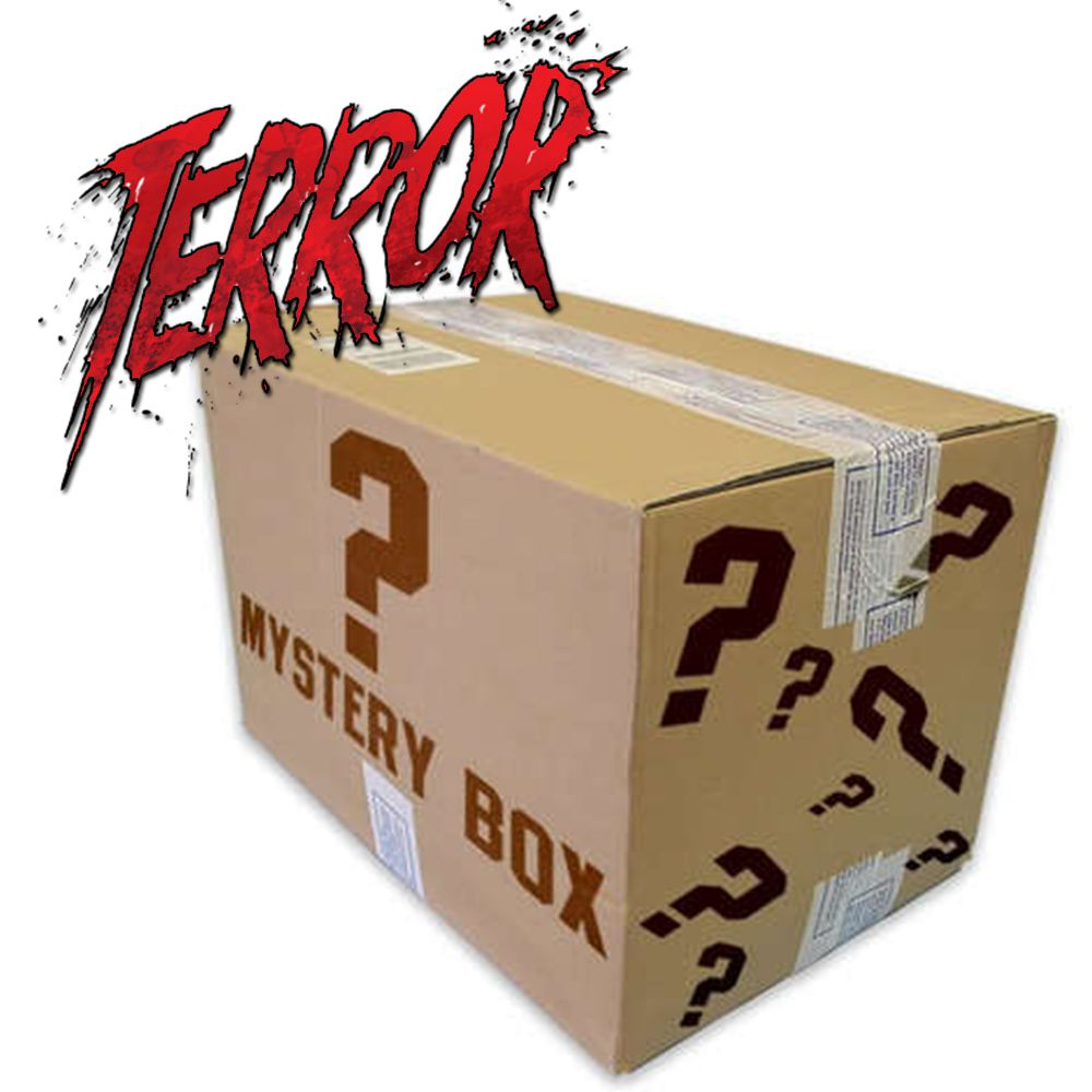 CAIXA MISTERIOSA MYSTERY BOX SURPRESA TERROR