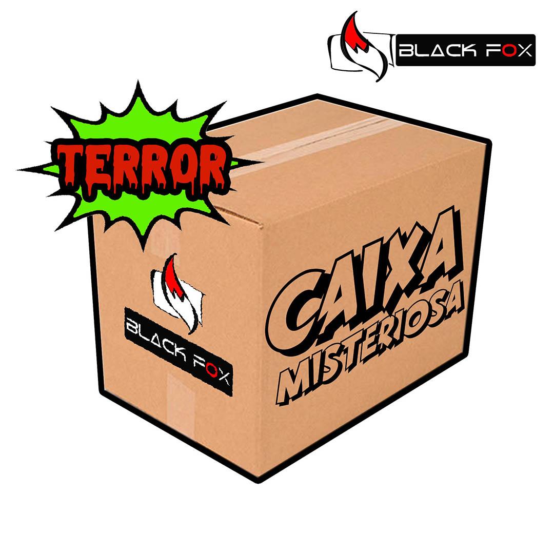 CAIXA MISTERIOSA MYSTERY BOX SURPRESA TERROR PADRÃO