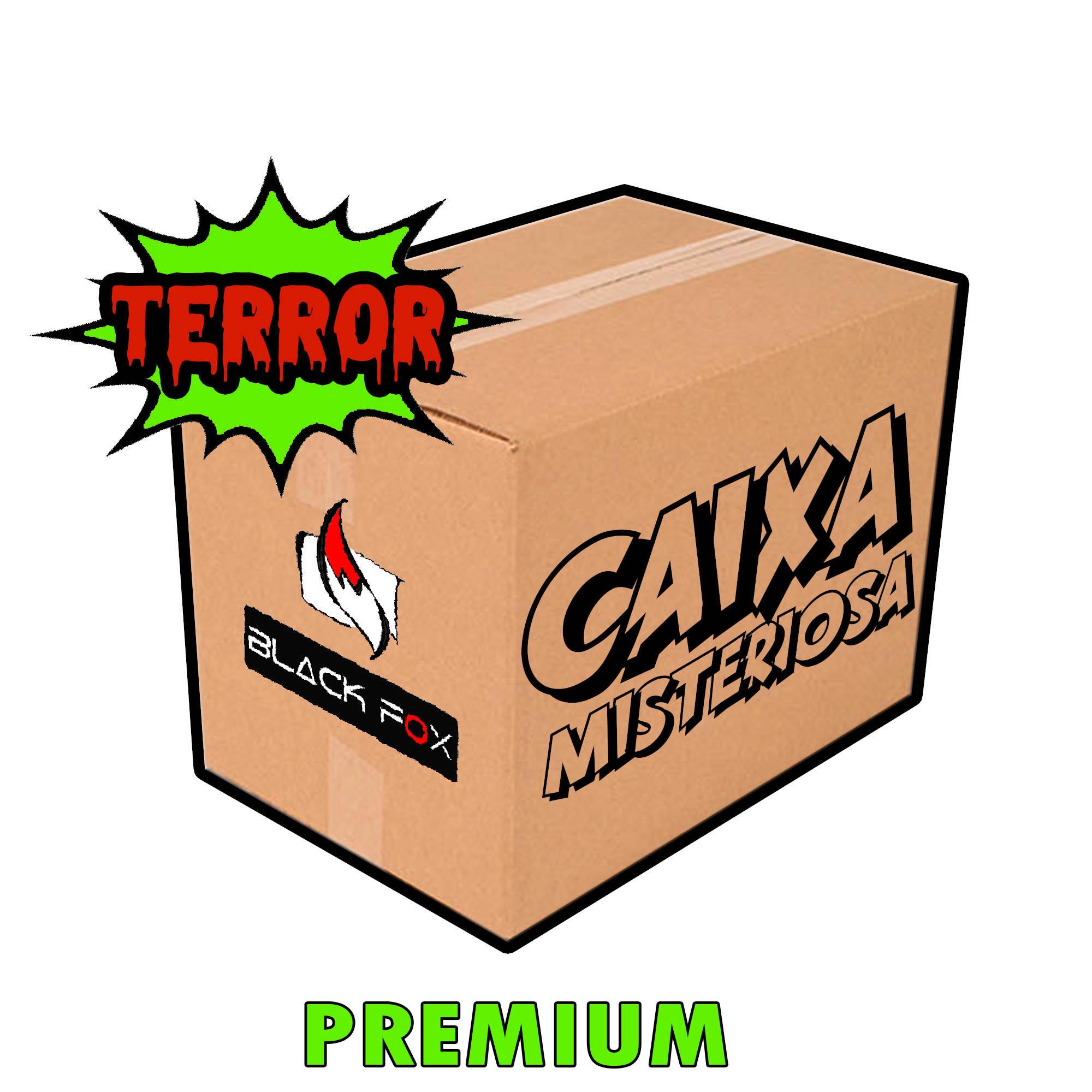 CAIXA MISTERIOSA MYSTERY BOX SURPRESA TERROR PREMIUM