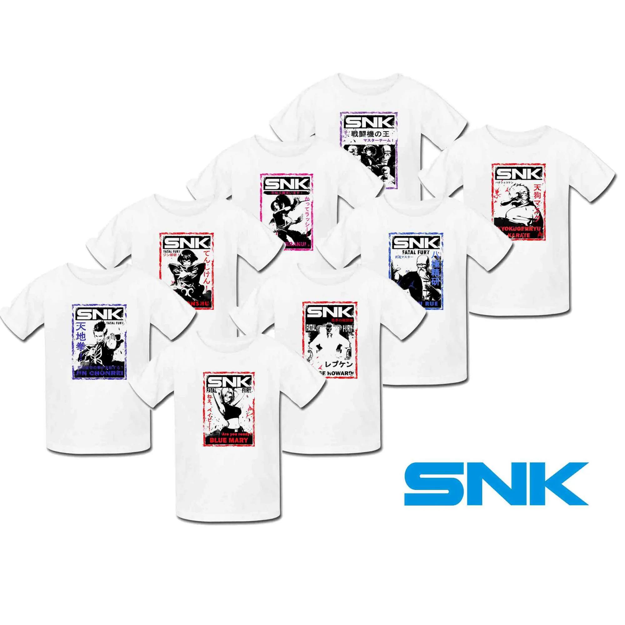 Camiseta SNK Neo Geo Poliéster