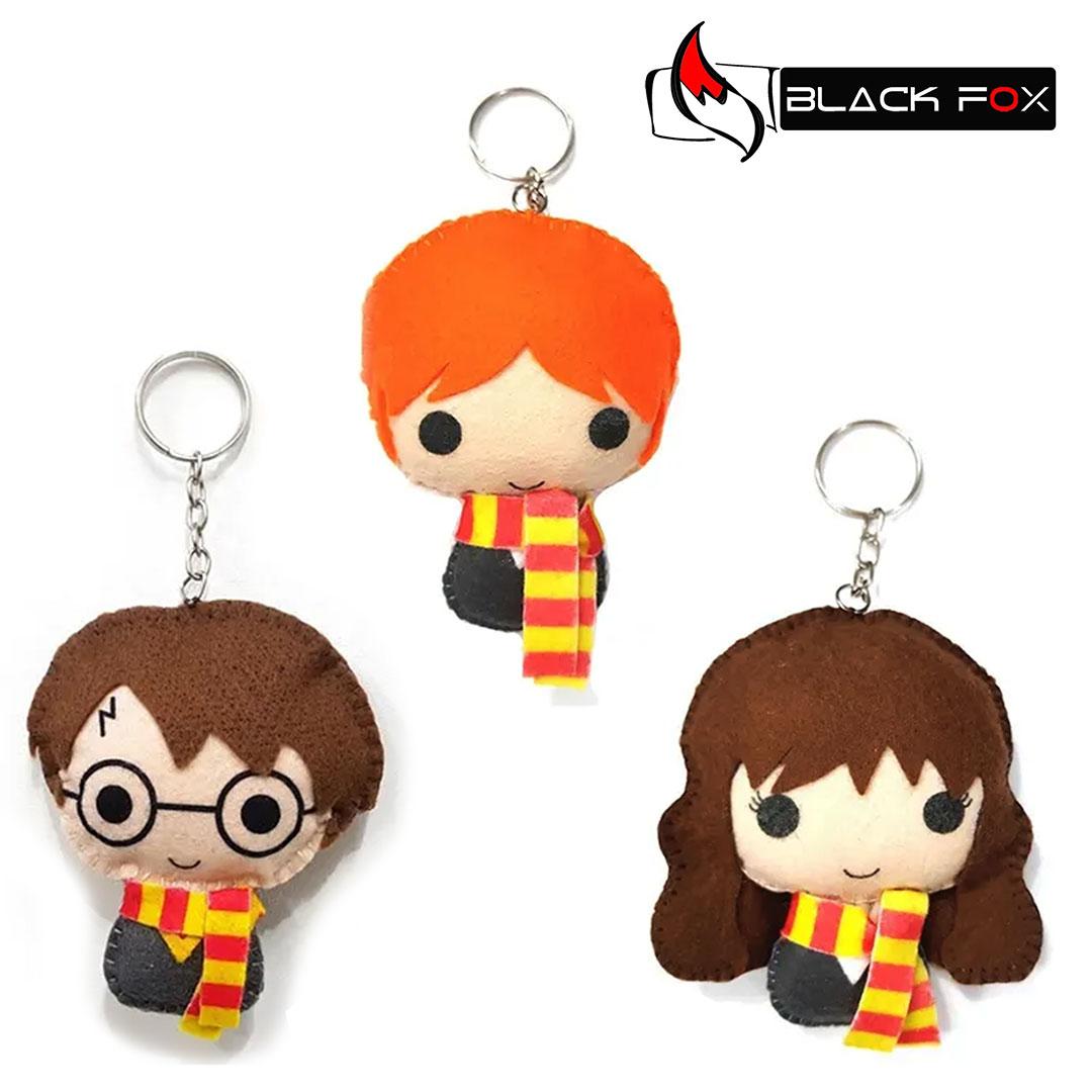 Chaveiro Harry Potter Rony Hermione