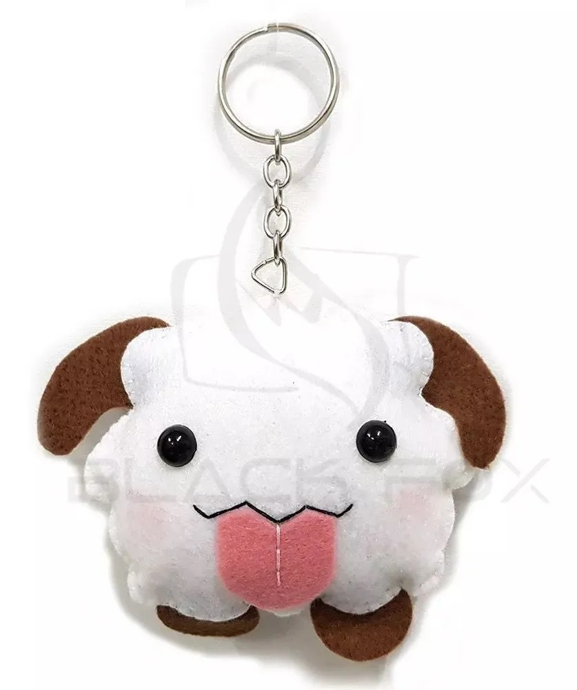 Chaveiro League Of Legends Lol Pelúcia Poro