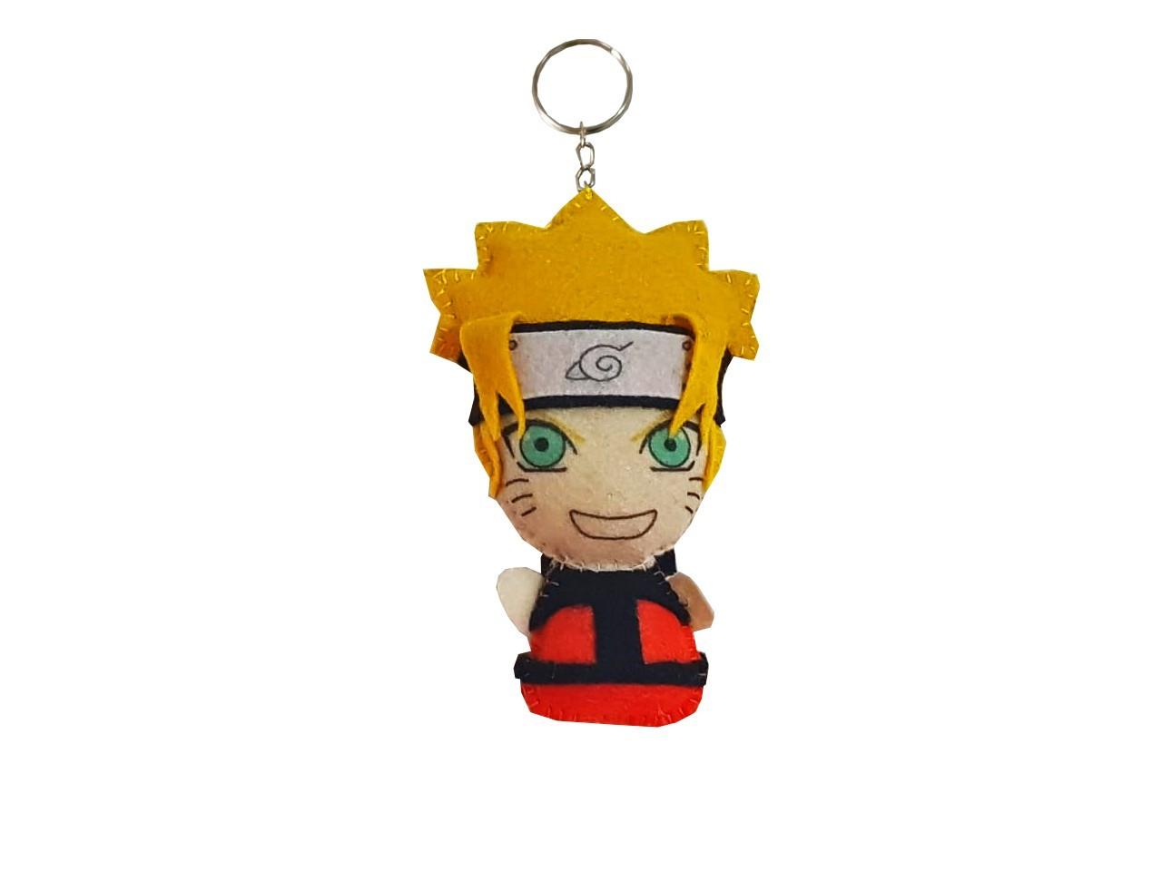 Chaveiro Naruto Shippuden Vila Da Folha