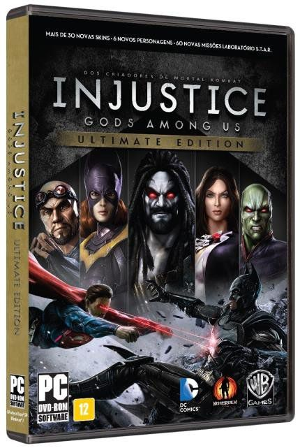 Jogo Injustice Ultimate Edition Pc
