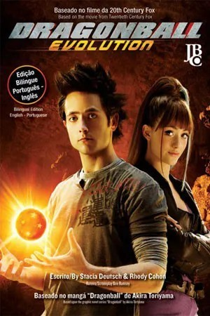 Livro Dragonball Evolution Jbc Novo Lacrado Dragon Ball