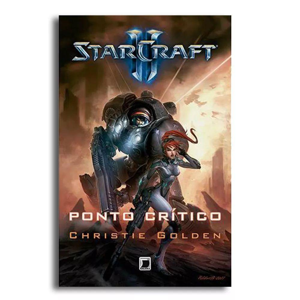 Livro Starcraft 2 Ponto Crítico Christie Golden Xbox Ps4