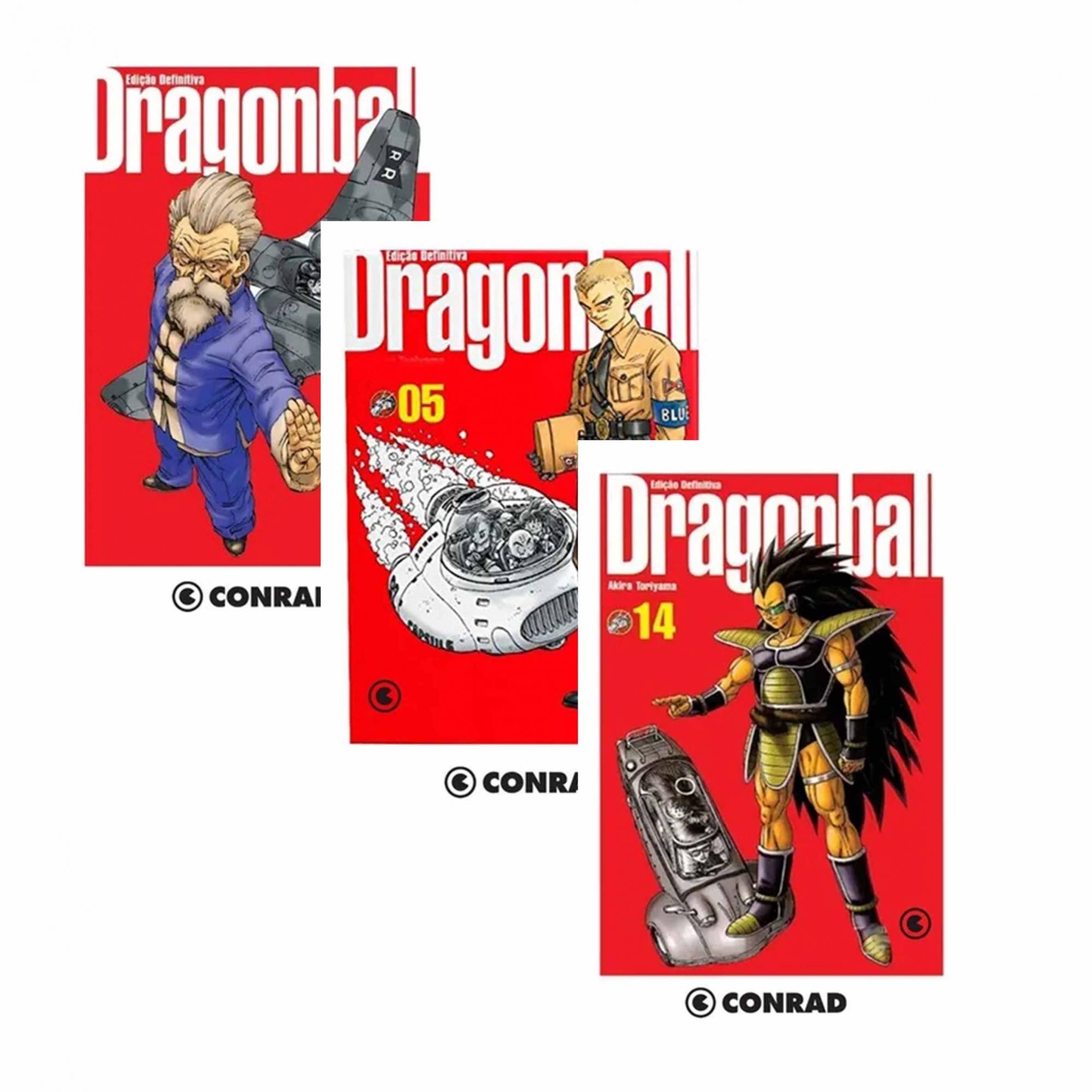 Mangá Dragon Ball Edição Definitiva CONRAD