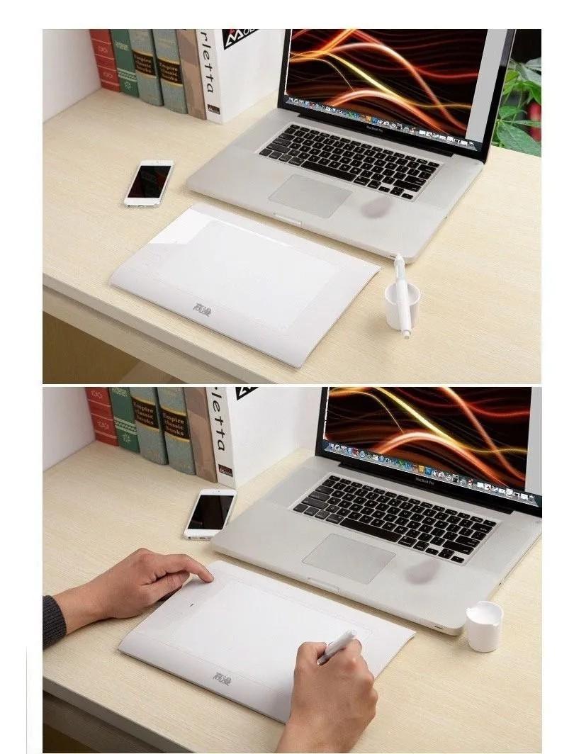 Mesa De Desenho Draw Gaomon 860 T 8x5 '' Profissional Branca Tablet Desenho Digitalizadora