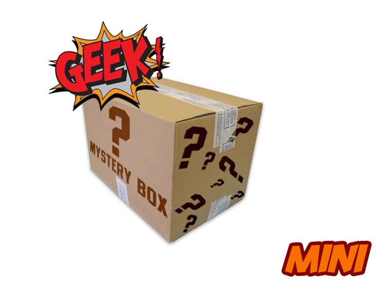 MINI CAIXA MISTERIOSA MYSTERY BOX SURPRESA GEEK